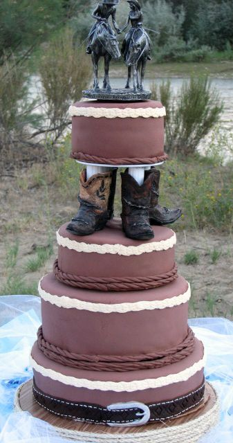 cowboy-wedding-cake