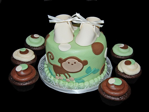 monkey-cake and booties