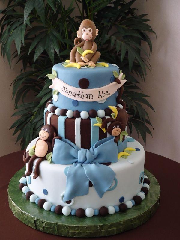 monkey-tiered-chocolate-cake