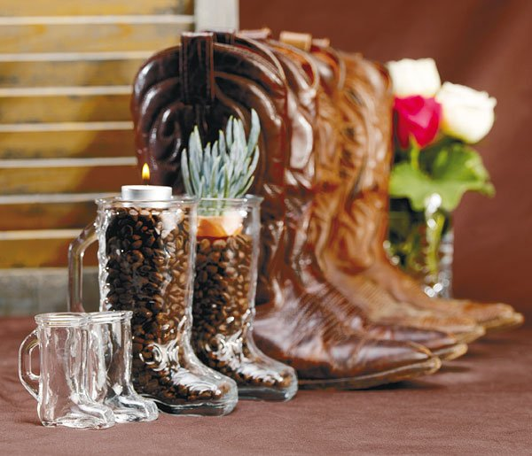 Country Western Centerpieces Wedding Rustic