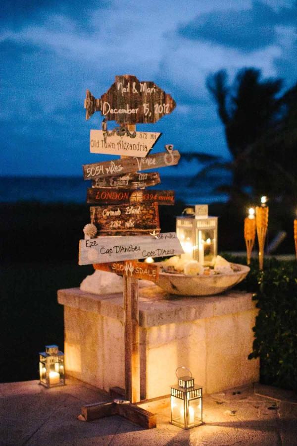 beachside wedding