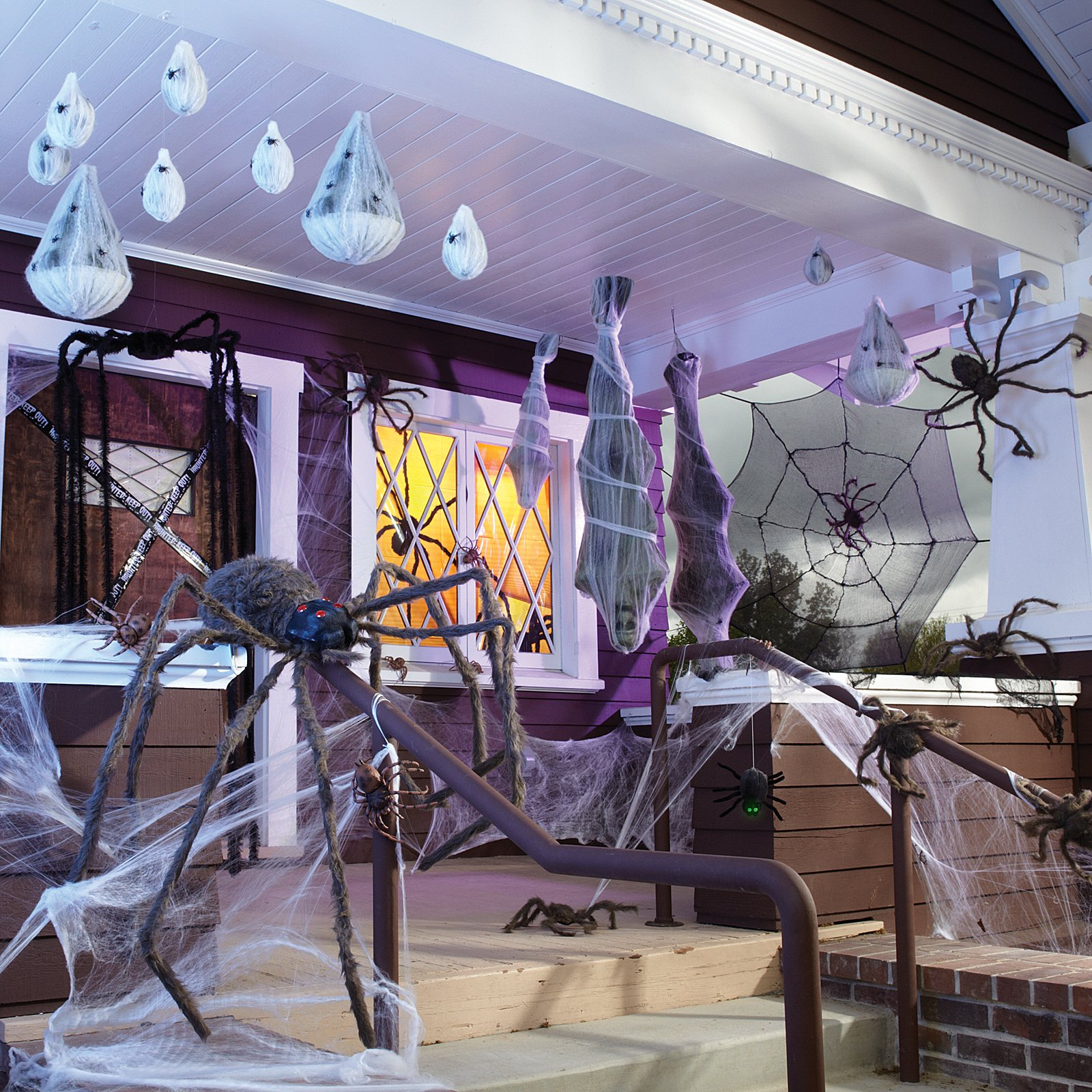 halloween-porch-decorations