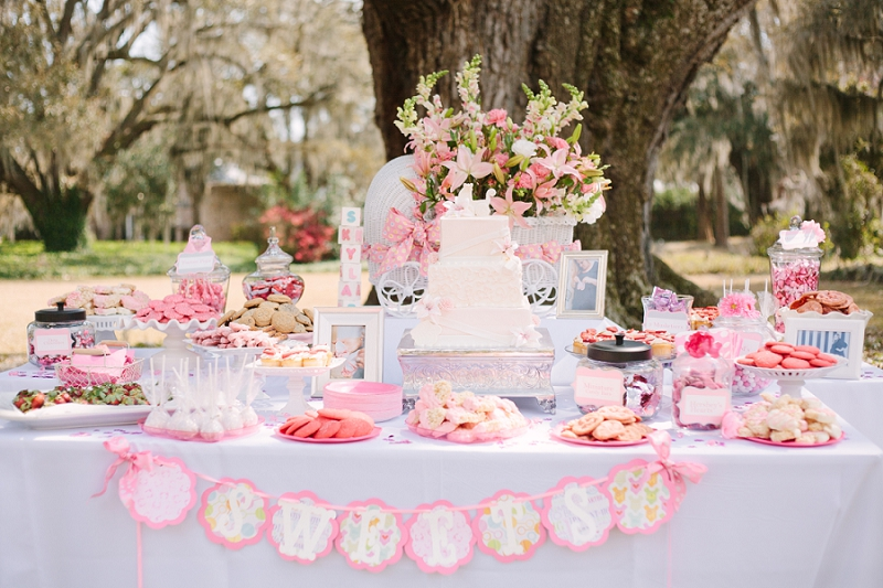 Elegant Outdoor Baby Shower