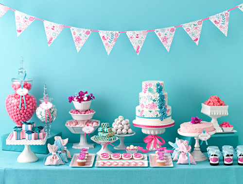 Pink-and-Blue-Candy-Buffet