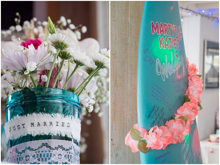 beachy turquoiis wedding