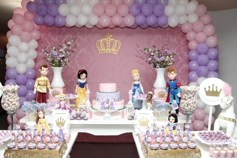 fairry tale and princess birthday party