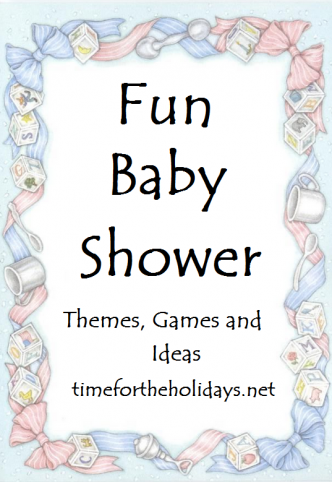 fun baby shower games themes ideas decorations