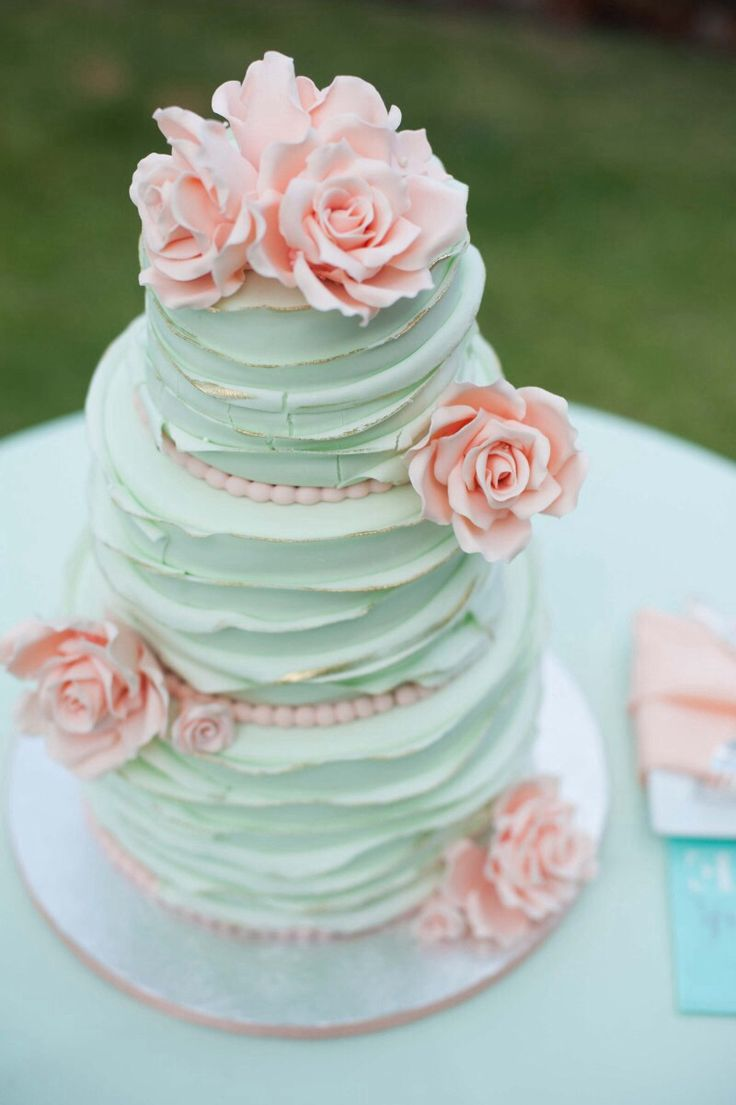 teal-cake