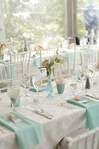 teal-wedding