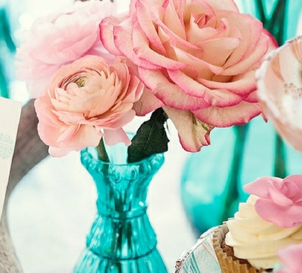 turquoise-and-pink-wedding