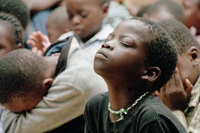 african-children-praying