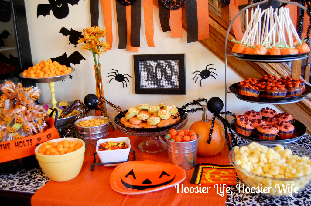 ideas for halloween party for toddlers