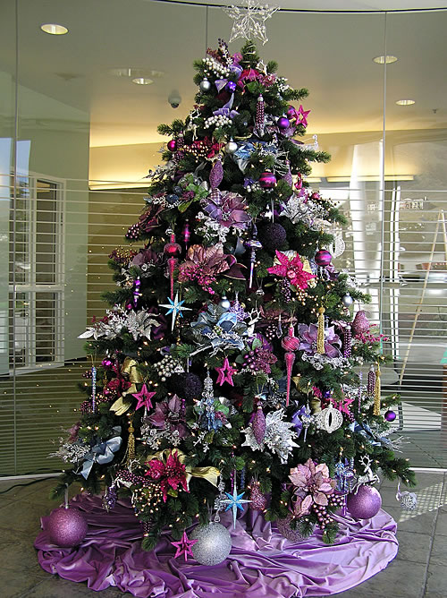 lavendar christmas tree pretty wallpaper purple christmas bulb