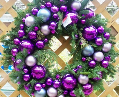 purple-wreath