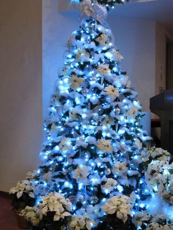 white christmas blue