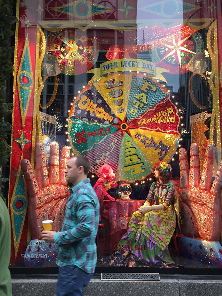 Ready For Bergdorf's windows? Here us go. Theme was Swarovski crystals...