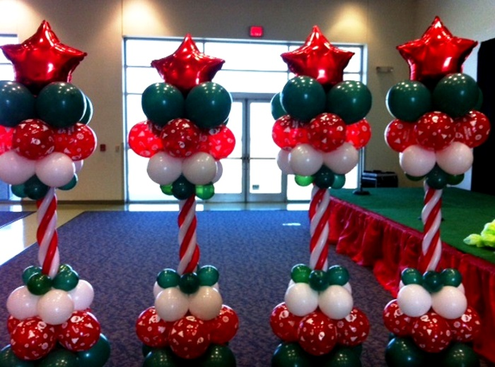 Christmas balloon decoration ideas time for the holidays