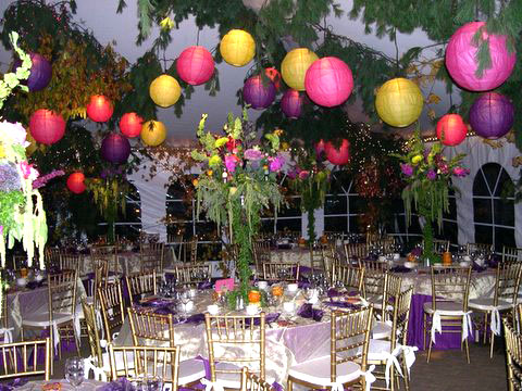 decorating-tent-w-lanterns & Birthday Balloons Decorating Ideas | Time for the Holidays