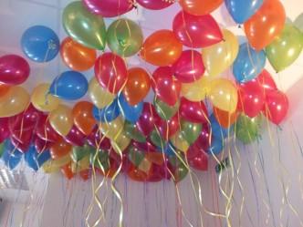 birthday party balloons decorating ideas