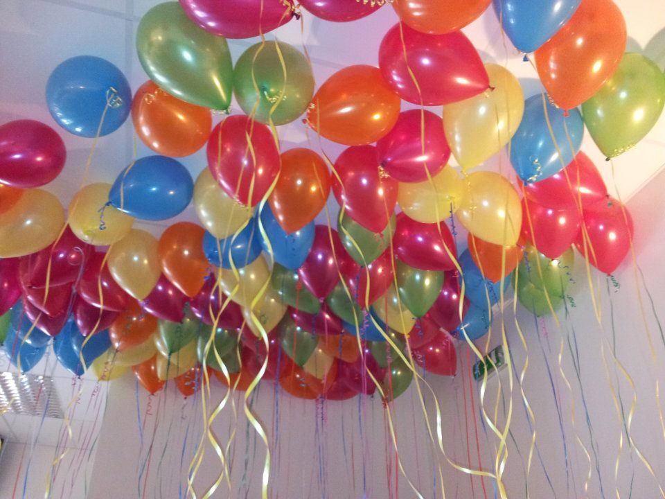 birthday party balloons decorating ideas