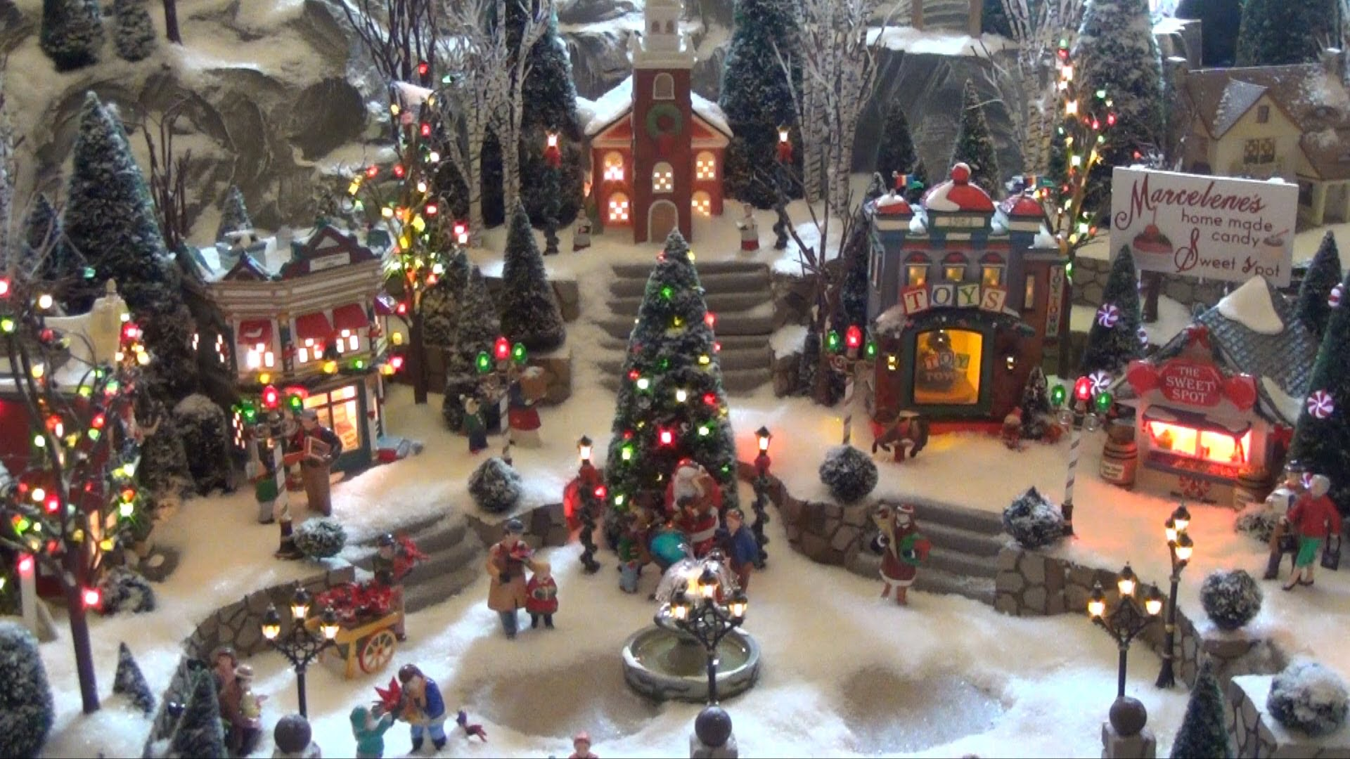 Department 56 Christmas Villages And Accessories Time For The Holidays