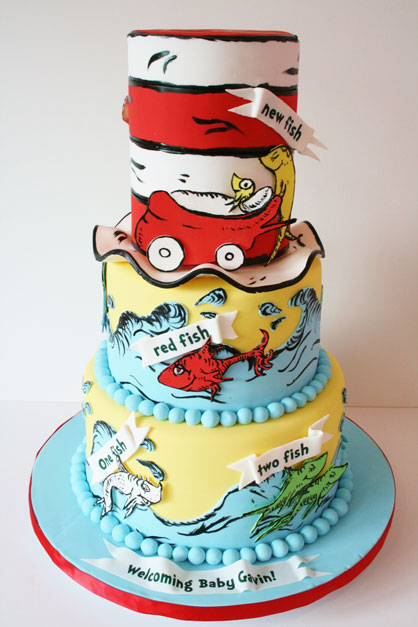 Baby-Shower-Cakes-New-York-Dr.-Seuss-Custom-Cakes