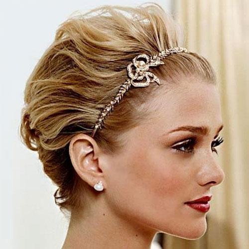 short bride hairstyles