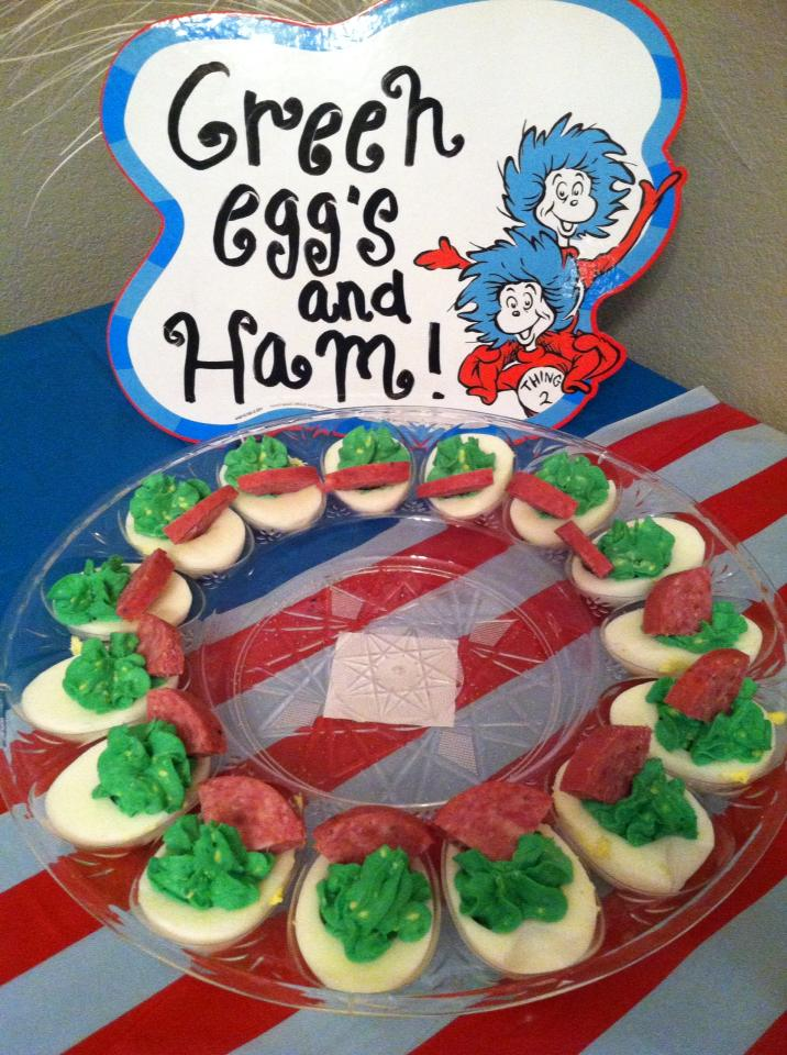 Dr Seuss Baby Shower January Baby Shower Food Ideas