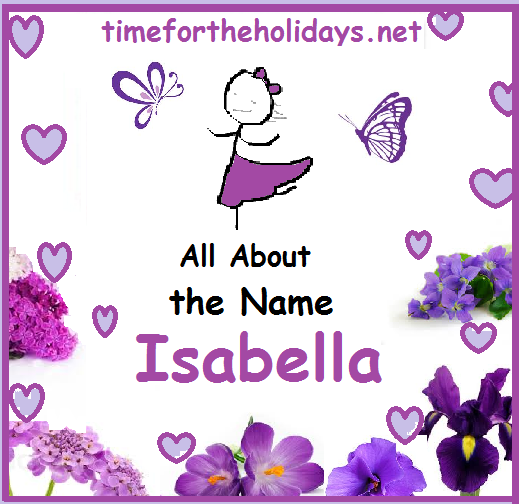the meaning of the name Isabella