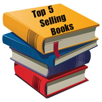 top selling books this week
