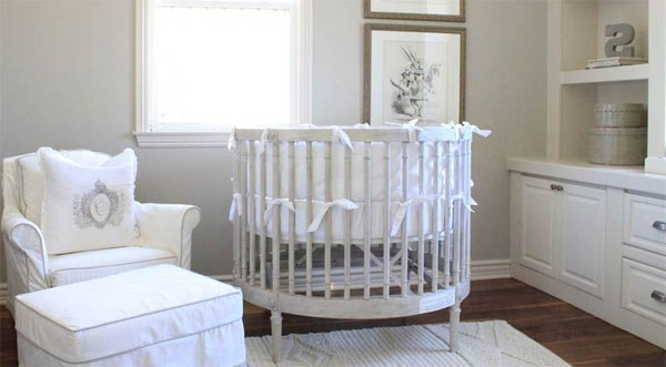 Round Cribs Different And Beautiful For Baby Time For