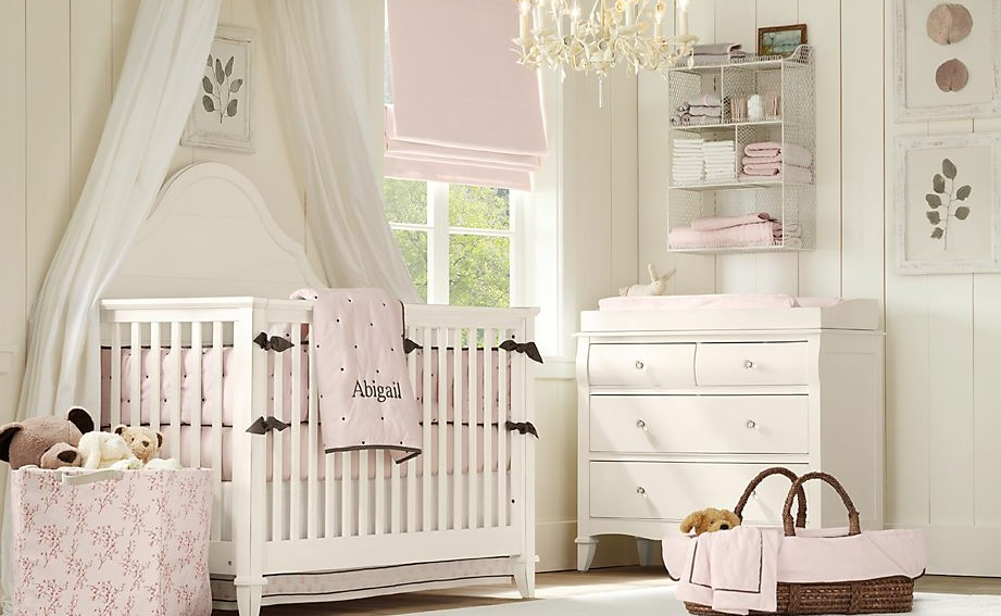 White-baby-pink-baby-room
