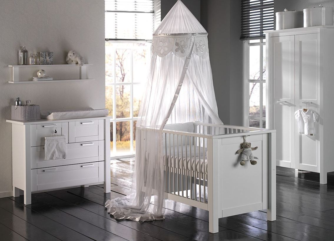 White Themed Baby Room Time For The Holidays