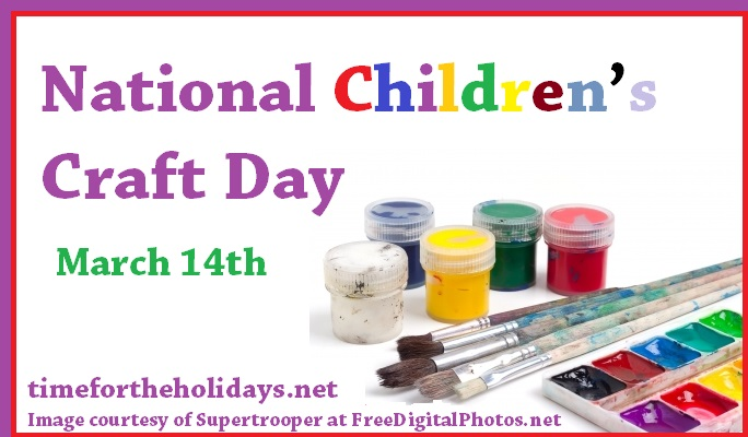 childrens crafts day