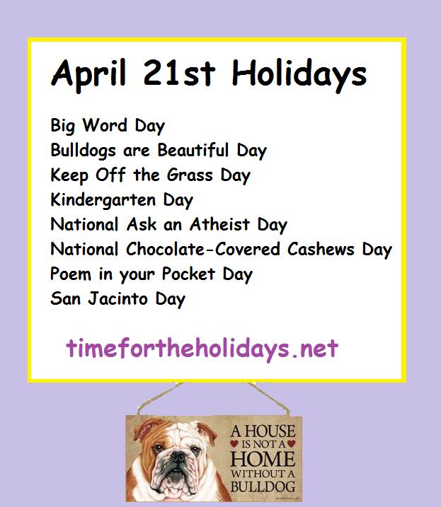 april21holodays