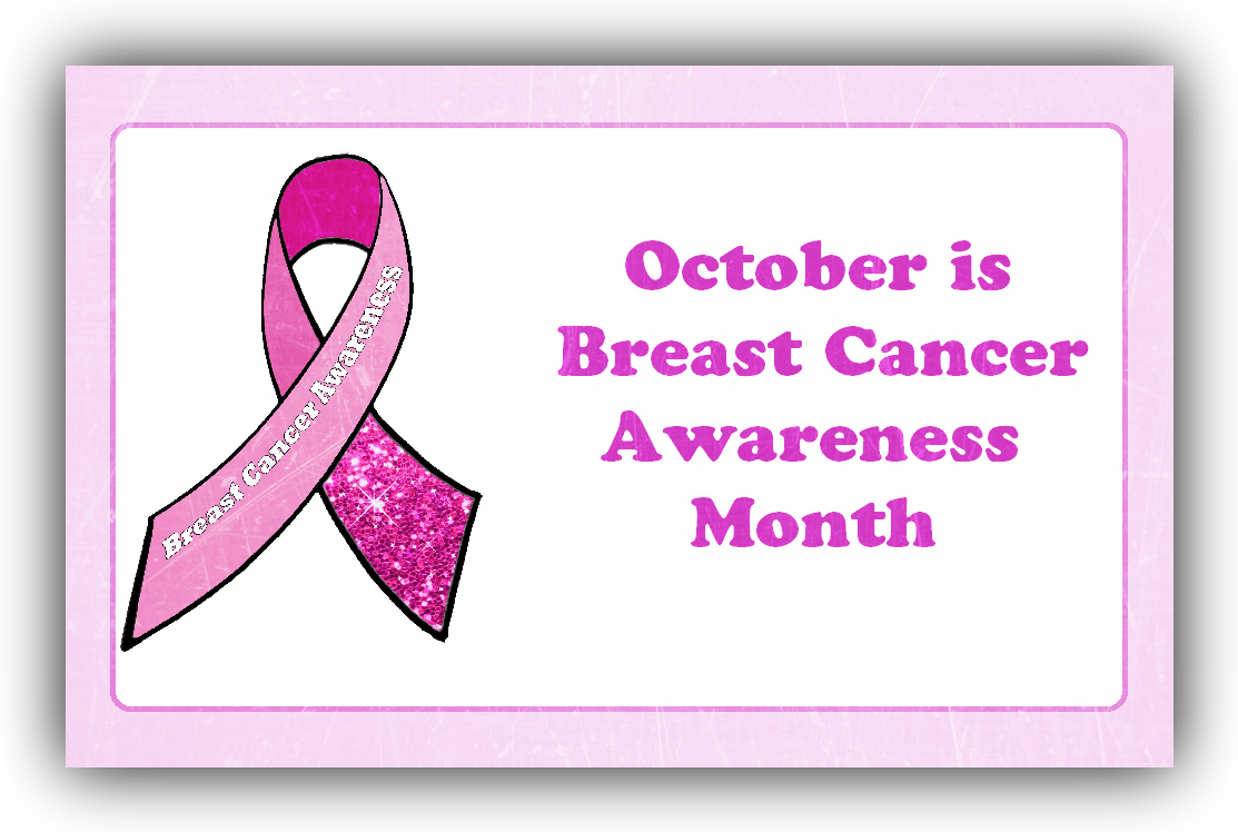breast cancer awareness month is in October