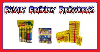 family friendly fireworks