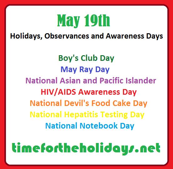 awareness days hiv