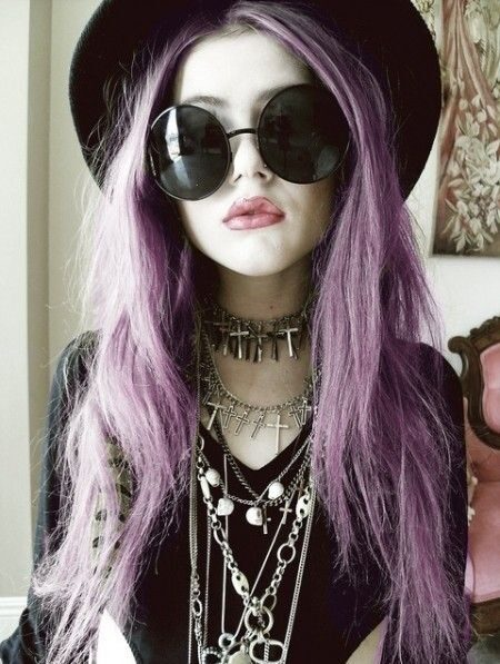 punk and gothic hairstyles