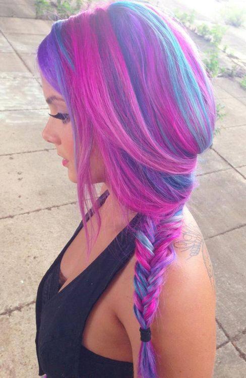 purple-pink-hair-braid