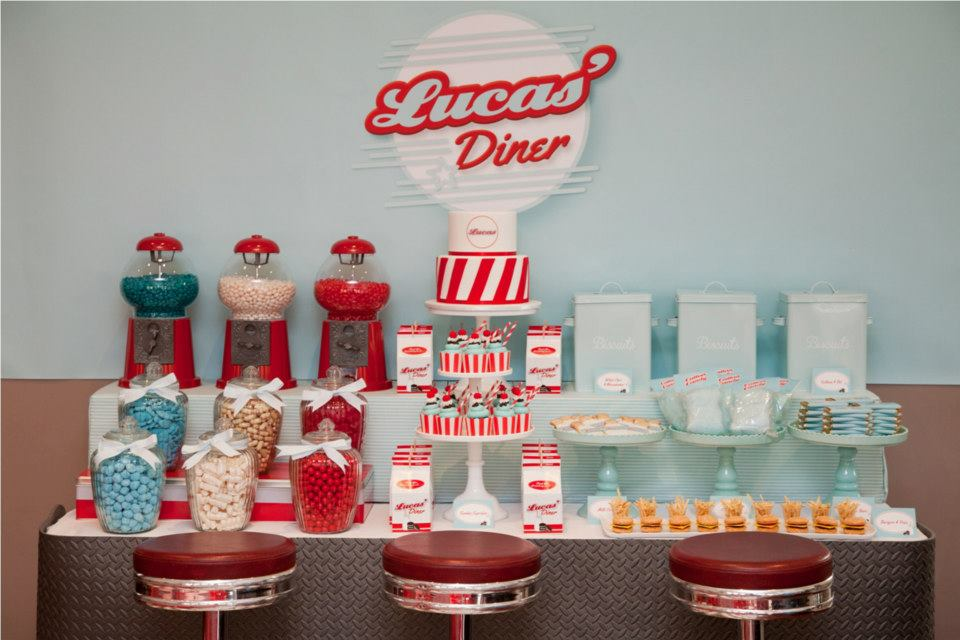 diner-candy bar theme