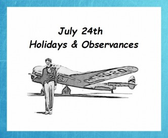 July 24th holidays