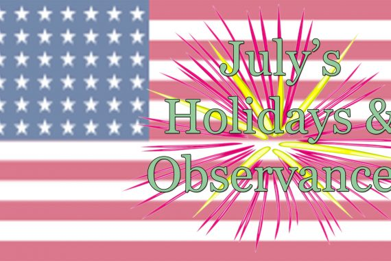 holidays in july