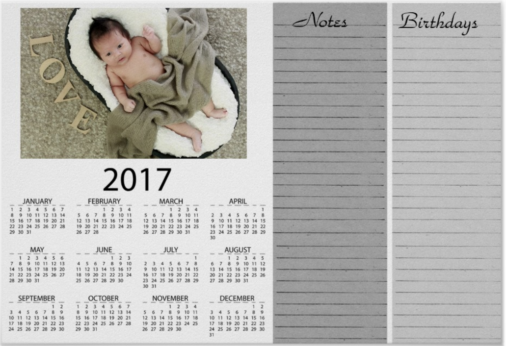 2017 calendars, magnets, refrigerator, wall, poster, books