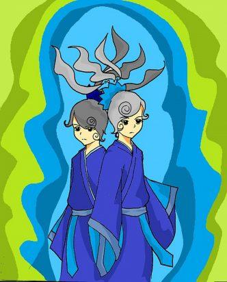 Gemini horoscope zodiac sign symbol twins