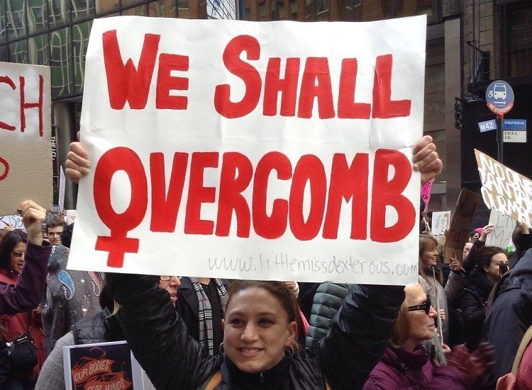 funny womens march protest signs