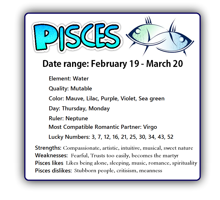 horoscope pisces sign