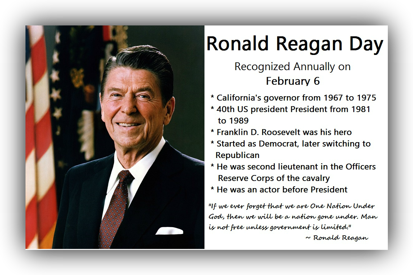Roanld Reagan facts and quotes