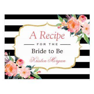 black white pink wedding