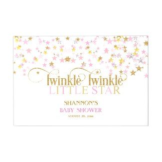 twinkle star baby shower
